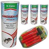 4 x Dr. Stähler 4463 Ameisen-EX Granulat Streu- und Gießmittel 500 g + Dr. Stähler Gießbalken...
