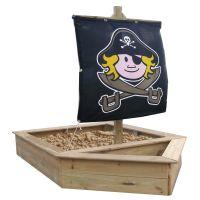 Sandkasten-Schiff-Boot