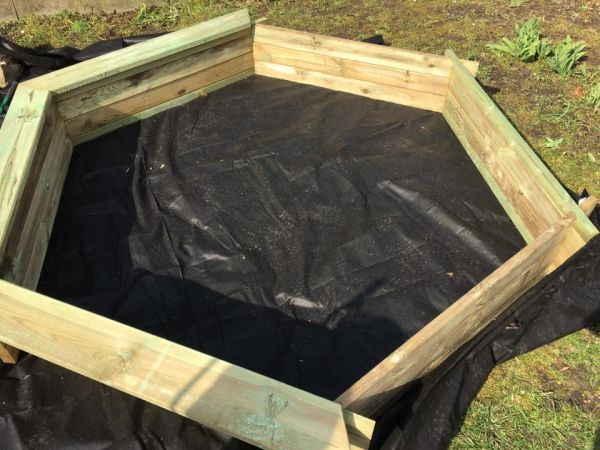 Relativ Sandkasten-Bausatz aufstellen ⋆ Sandkasten ABC NJ29