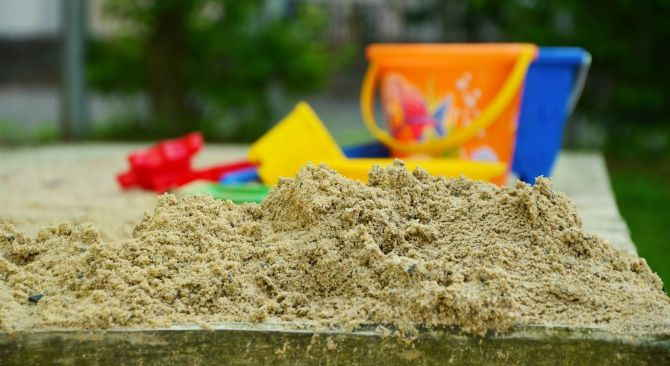 Spielsand für den Sandkasten